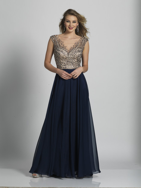 4465 gown from the 2018 Dave & Johnny Special Occasions collection, as seen on dressfinder.ca
