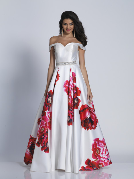 5604 gown from the 2018 Dave & Johnny Special Occasions collection, as seen on dressfinder.ca