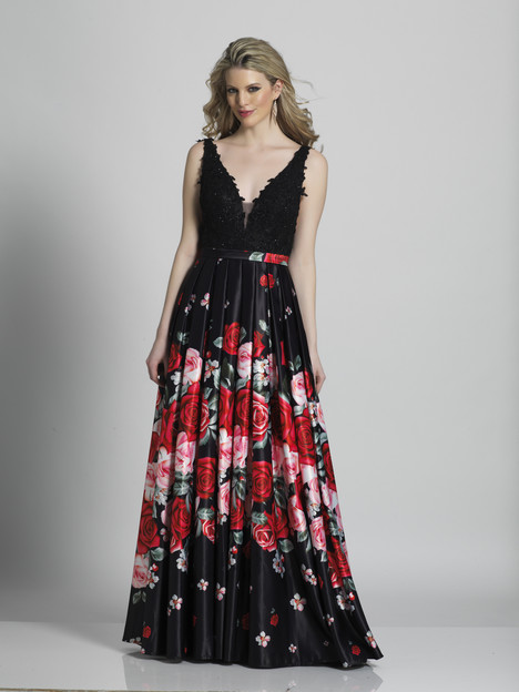 6002 gown from the 2018 Dave & Johnny Special Occasions collection, as seen on dressfinder.ca