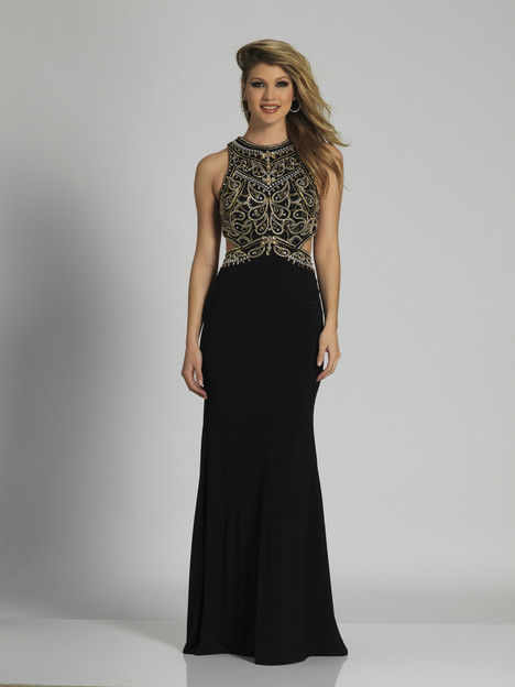 6037 gown from the 2018 Dave & Johnny Special Occasions collection, as seen on dressfinder.ca