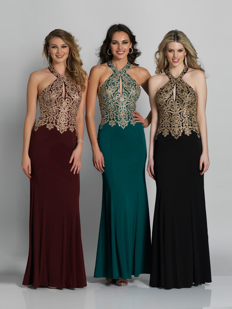 6046 gown from the 2018 Dave & Johnny Special Occasions collection, as seen on dressfinder.ca