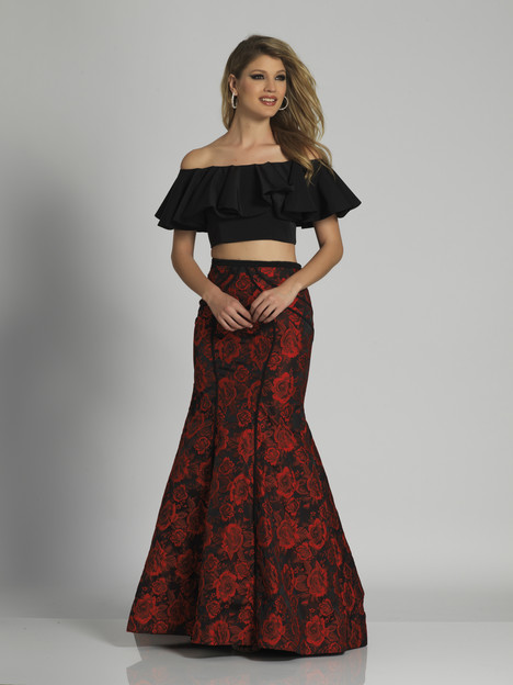 6235 gown from the 2018 Dave & Johnny Special Occasions collection, as seen on dressfinder.ca