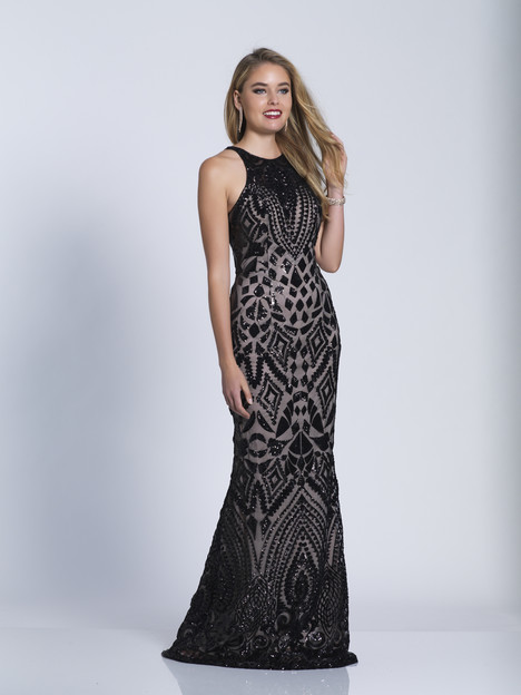 6450 gown from the 2018 Dave & Johnny Special Occasions collection, as seen on dressfinder.ca