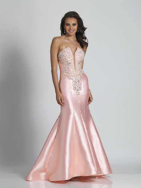 6453 gown from the 2018 Dave & Johnny Special Occasions collection, as seen on dressfinder.ca