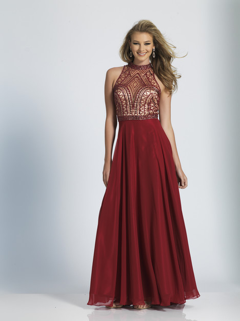 A4747 gown from the 2018 Dave & Johnny Special Occasions collection, as seen on dressfinder.ca