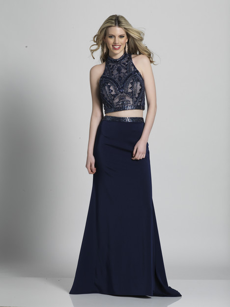 A5325 gown from the 2018 Dave & Johnny Special Occasions collection, as seen on dressfinder.ca
