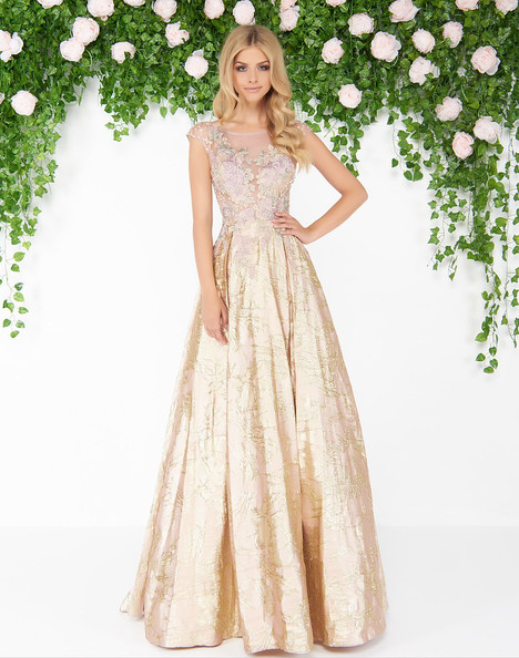 20086D (Rose Gold) Prom                                             dress by Mac Duggal : Couture