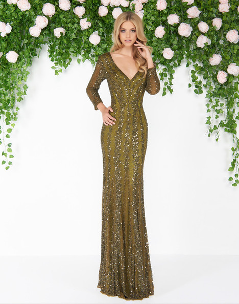 4247D (Olive) Prom                                             dress by Mac Duggal : Couture