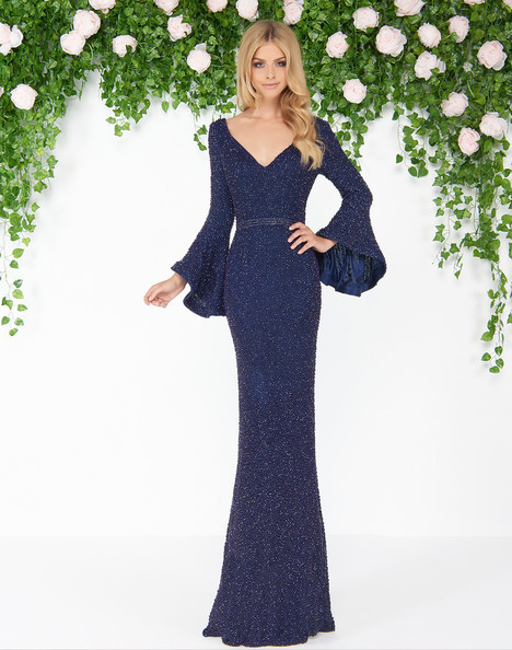 4478D (Midnight) Prom                                             dress by Mac Duggal : Couture