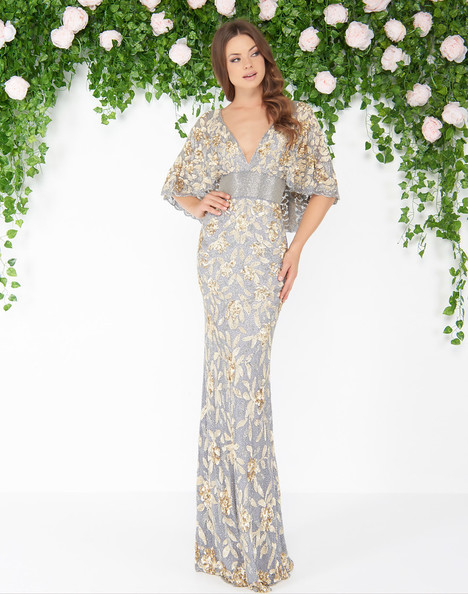 4574D (Platinum Gold) Prom                                             dress by Mac Duggal : Couture
