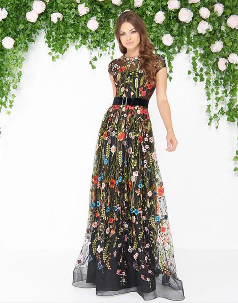 50435D (Black Multi) Prom                                             dress by Mac Duggal : Couture