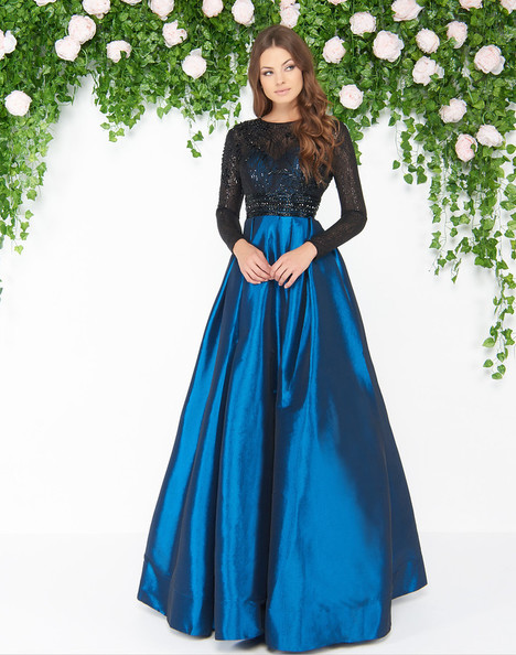 62883D (Teal) Prom                                             dress by Mac Duggal : Couture