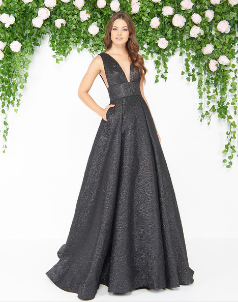 66217D (Black) Prom                                             dress by Mac Duggal : Couture