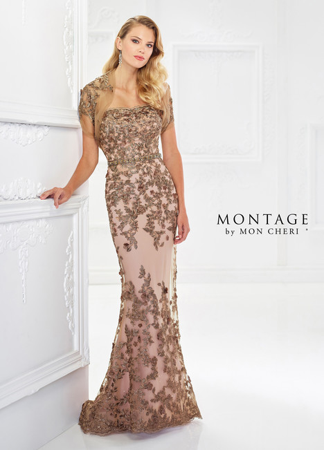 118961 (Gold) Mother of the Bride                              dress by Montage by Mon Cheri
