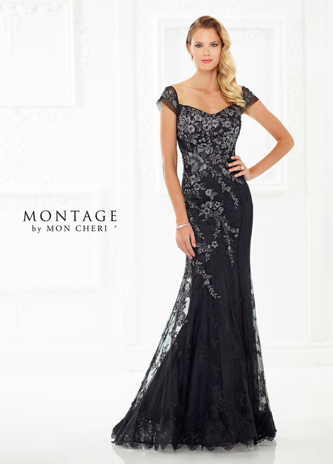 118966 (Black) Mother of the Bride                              dress by Montage by Mon Cheri