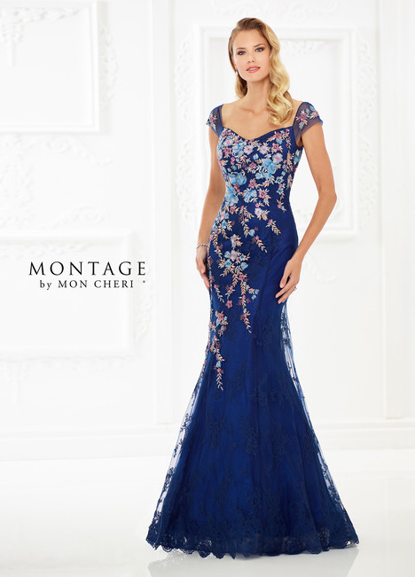 118966 (Blue) Mother of the Bride                              dress by Montage by Mon Cheri
