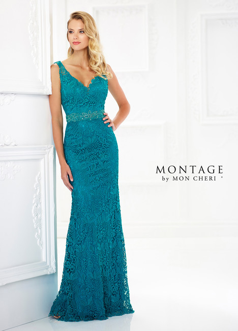 118968 (Teal) Mother of the Bride                              dress by Montage by Mon Cheri