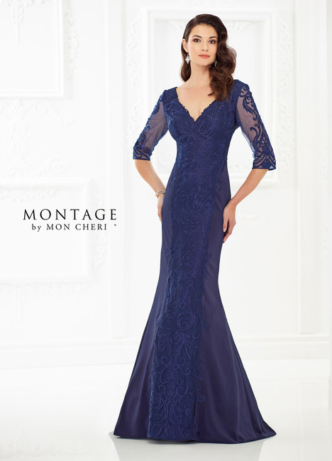 118969 (Blue) Mother of the Bride                              dress by Montage by Mon Cheri