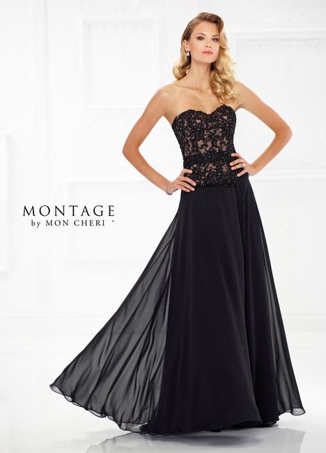 118971 (Black) Mother of the Bride                              dress by Montage by Mon Cheri