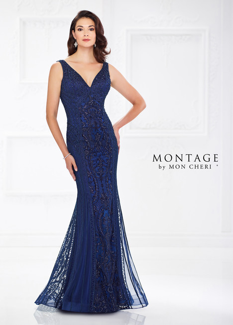 118975 (Navy) Mother of the Bride                              dress by Montage by Mon Cheri