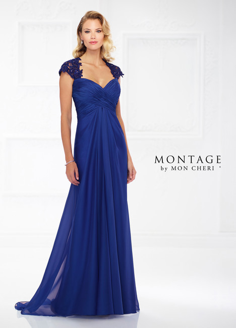 118977 (Royal Blue) Mother of the Bride                              dress by Montage by Mon Cheri