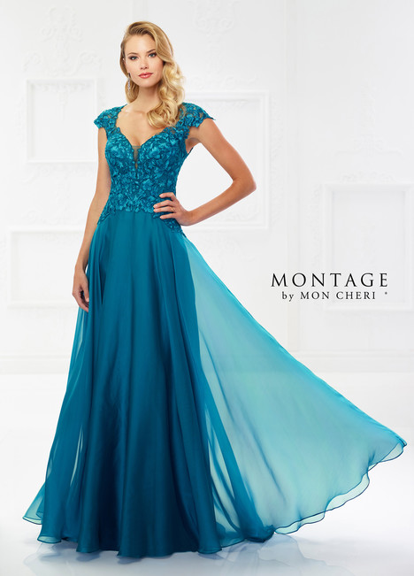 118978 (Teal) Mother of the Bride                              dress by Montage by Mon Cheri