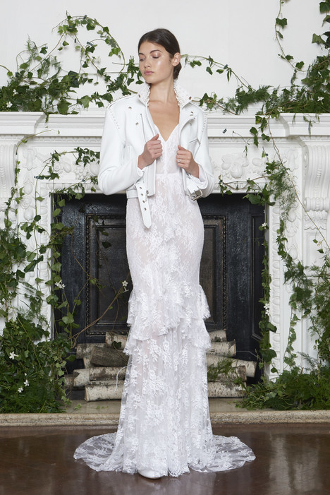Alexis Wedding                                          dress by Monique Lhuillier