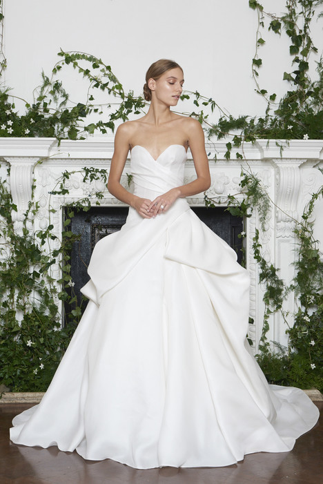 Barron Wedding                                          dress by Monique Lhuillier