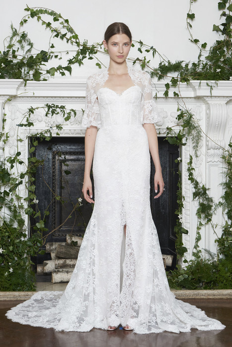 Apple Wedding                                          dress by Monique Lhuillier