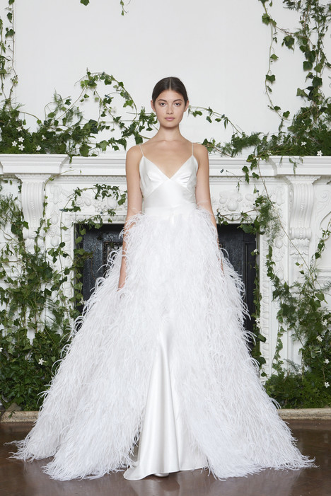 Paris Wedding                                          dress by Monique Lhuillier
