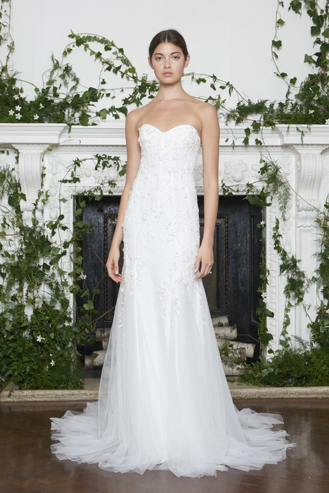 Blair Wedding                                          dress by Monique Lhuillier