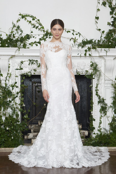 Dawson Wedding                                          dress by Monique Lhuillier