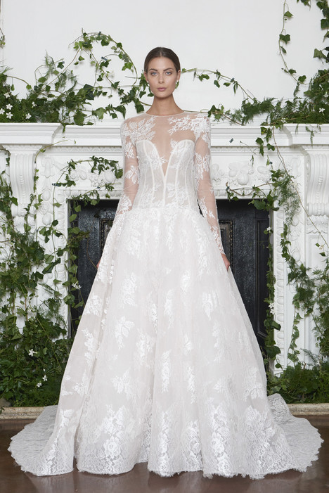 Channing Wedding                                          dress by Monique Lhuillier