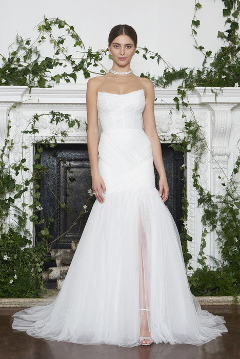 Holden Wedding                                          dress by Monique Lhuillier