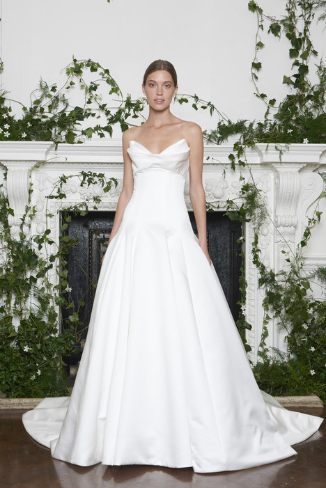 Kingsley Wedding                                          dress by Monique Lhuillier