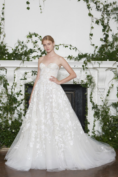 Lakely Wedding                                          dress by Monique Lhuillier