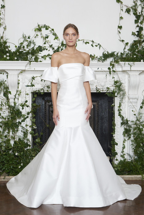 Winston Wedding                                          dress by Monique Lhuillier