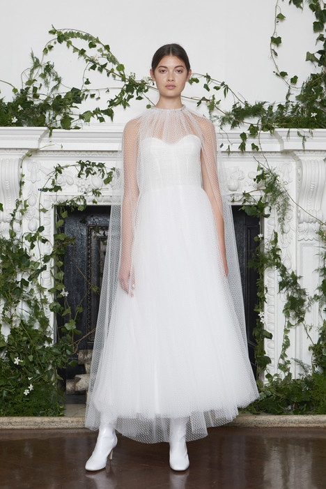Brie Wedding                                          dress by Monique Lhuillier
