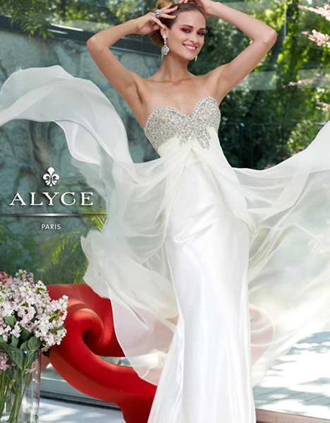 6070 Prom                                             dress by Alyce Paris: Semi Formal