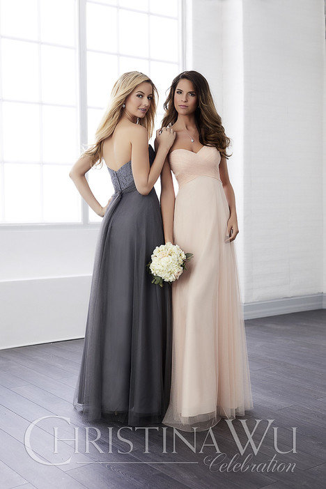 22812 Bridesmaids                                      dress by Christina Wu: Celebration