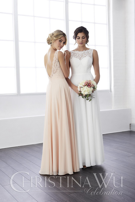 22813 Bridesmaids                                      dress by Christina Wu Celebration