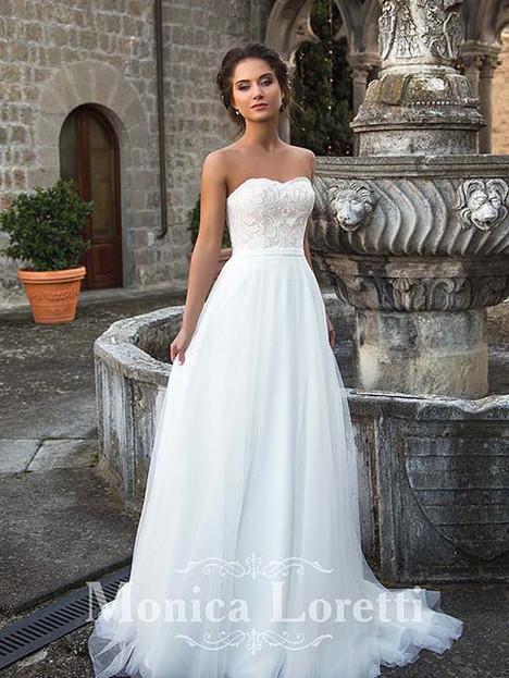 Martina Wedding                                          dress by Monica Loretti