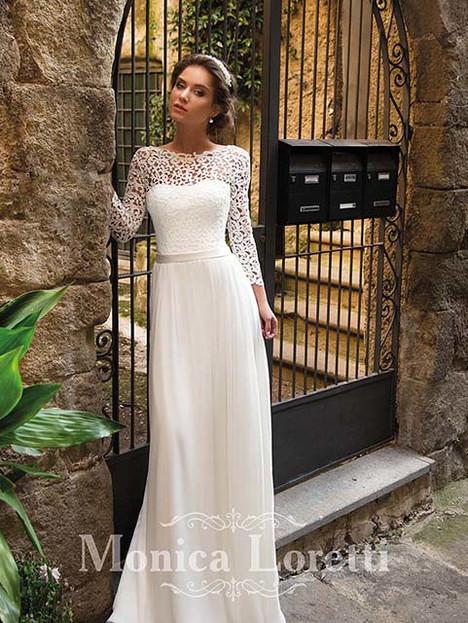 Melisa Wedding                                          dress by Monica Loretti