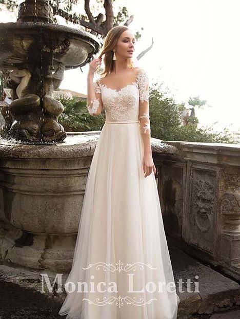 Mireia Wedding                                          dress by Monica Loretti