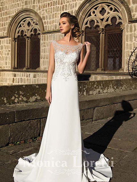 Nacel Wedding                                          dress by Monica Loretti