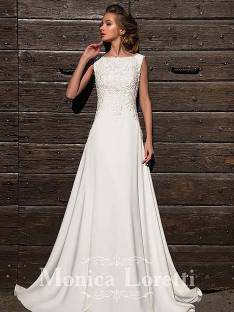Nadia Wedding                                          dress by Monica Loretti