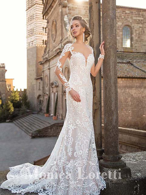 Naila Wedding                                          dress by Monica Loretti