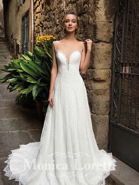 Nency Wedding                                          dress by Monica Loretti