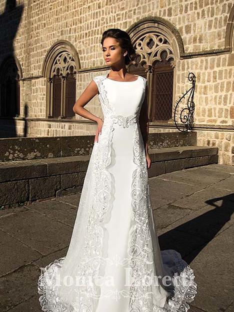 Neri Wedding                                          dress by Monica Loretti
