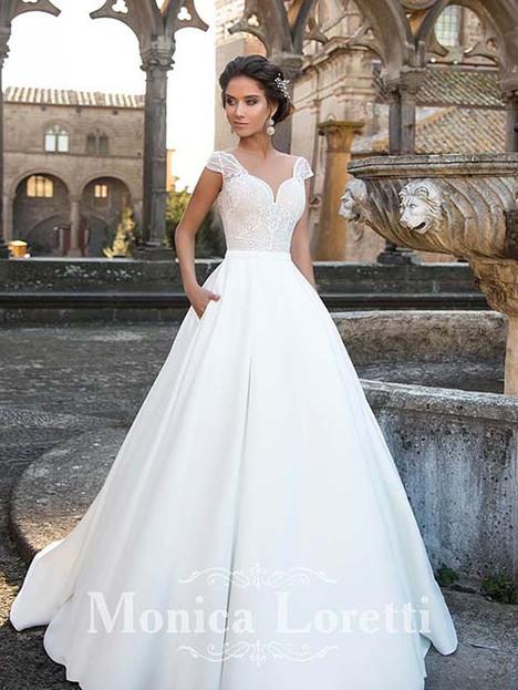 Nesta Wedding                                          dress by Monica Loretti